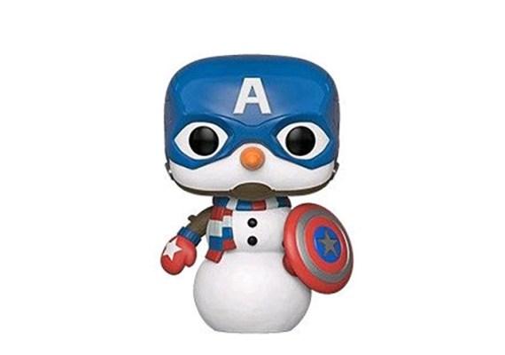 FUN43335–Captain-America-Holiday-Snowman-Pop