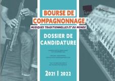 BOURSE DE COMPAGNONNAGE MUSIQUES TRADITIONNELLES ET DU MOND