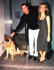 john travolta and kelly preston with oscar the dog