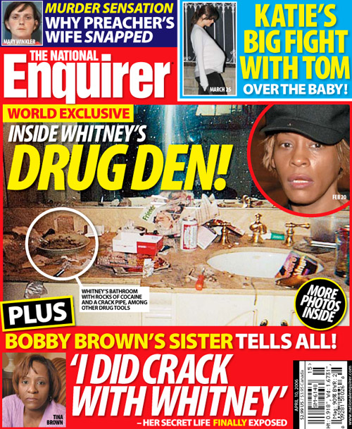 Inside Whitney Houstons drug den  PopBytes