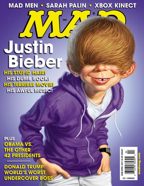 Justin Bieber - Mad Magazine