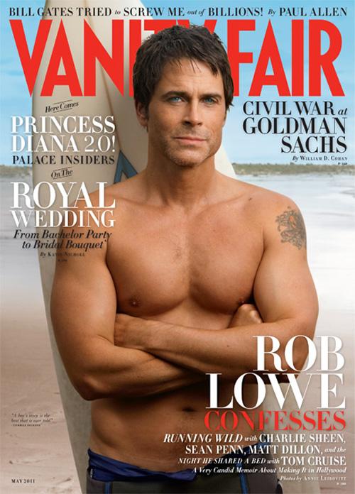 Rob Lowe - Vanity Fair