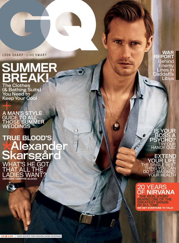 Alexander Skarsgård - GQ Magazine