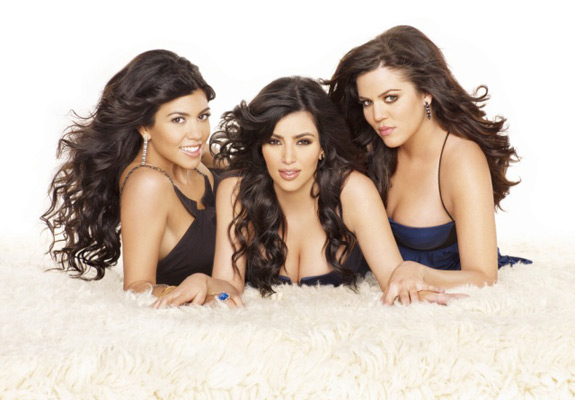 Kim, Kourtney and Khloé Kardashian