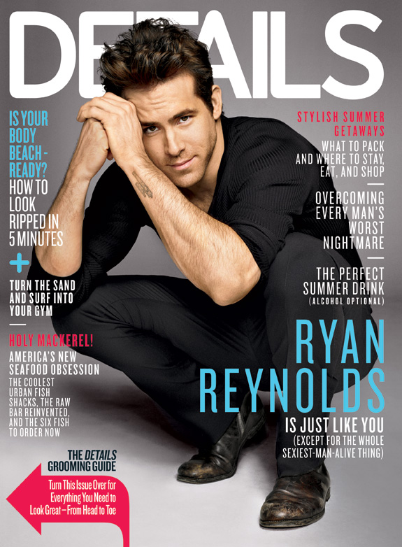 Ryan Reynolds - Details Magazine