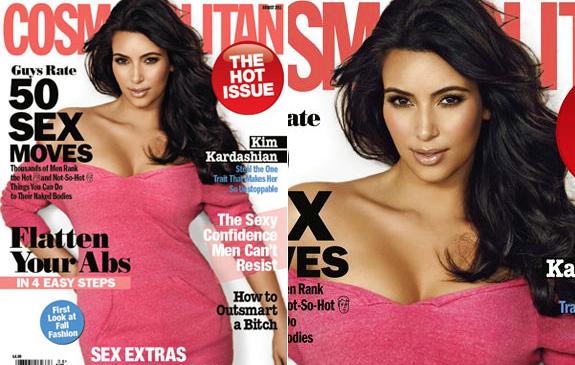 Kim Kardashian - Cosmopolitan
