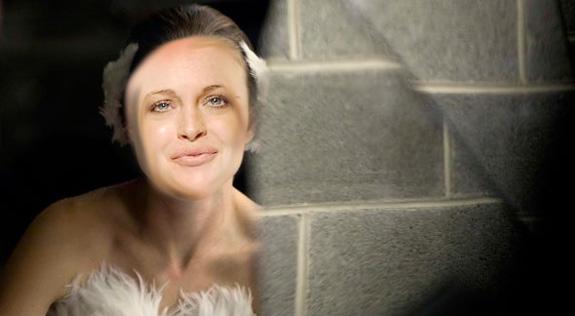 Lindsay Lohan in Black Swan