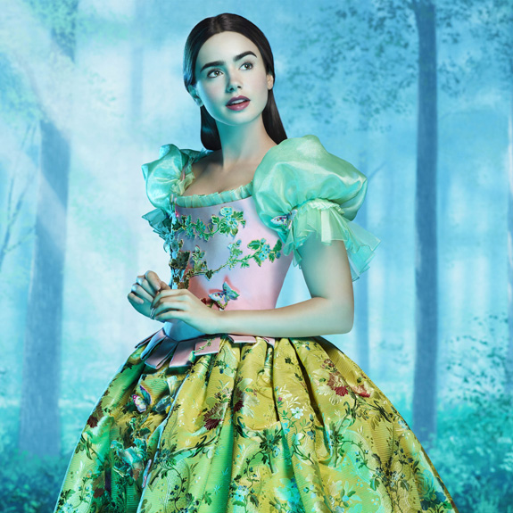 Lily Collins - Snow White