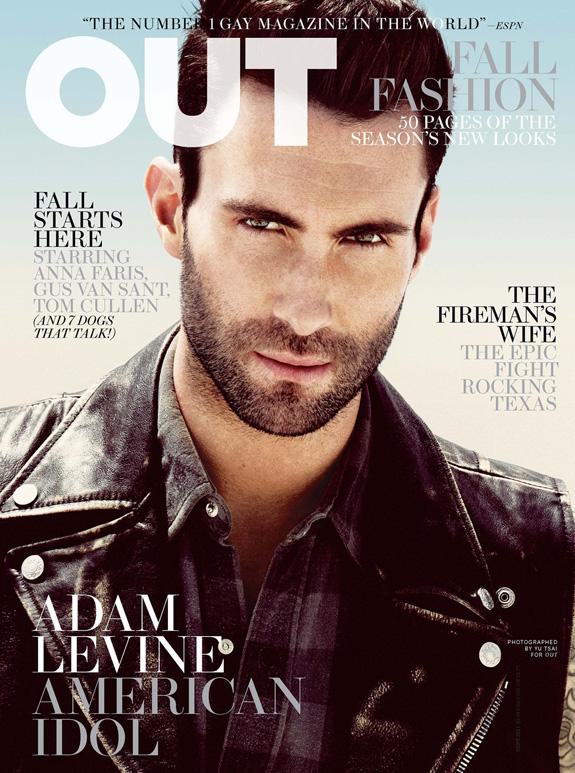 Adam Levine - OUT Magazine