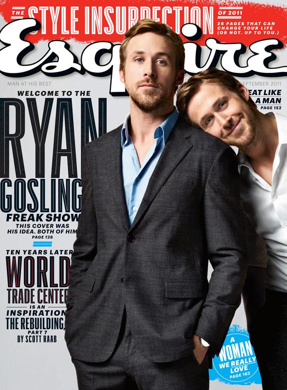 Ryan Gosling - Esquire Magazine