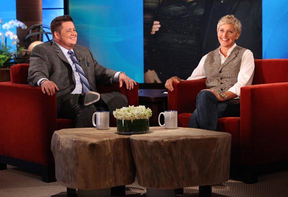 Chaz Bono and Ellen DeGeneres