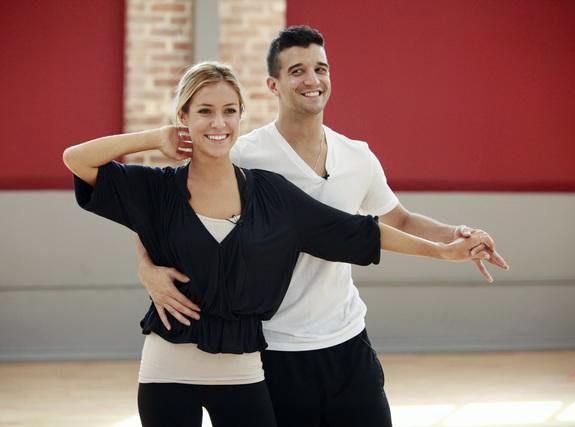 Mark Ballas and Kristin Cavallari
