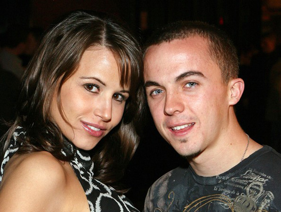 Frankie Muniz and Elycia Marie Turnbow