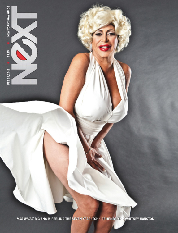 Angela 'Big Ang' Raiola does Marilyn Monroe