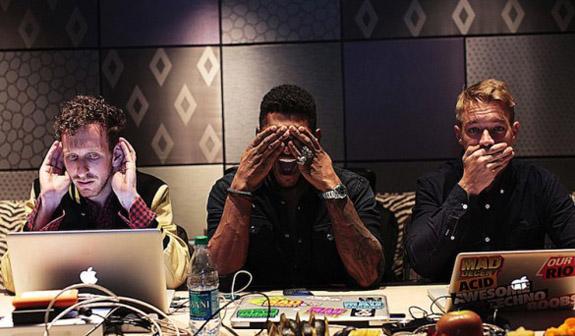 Usher and Diplo
