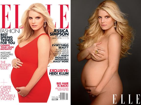 Jessica Simpson - Elle Magazine