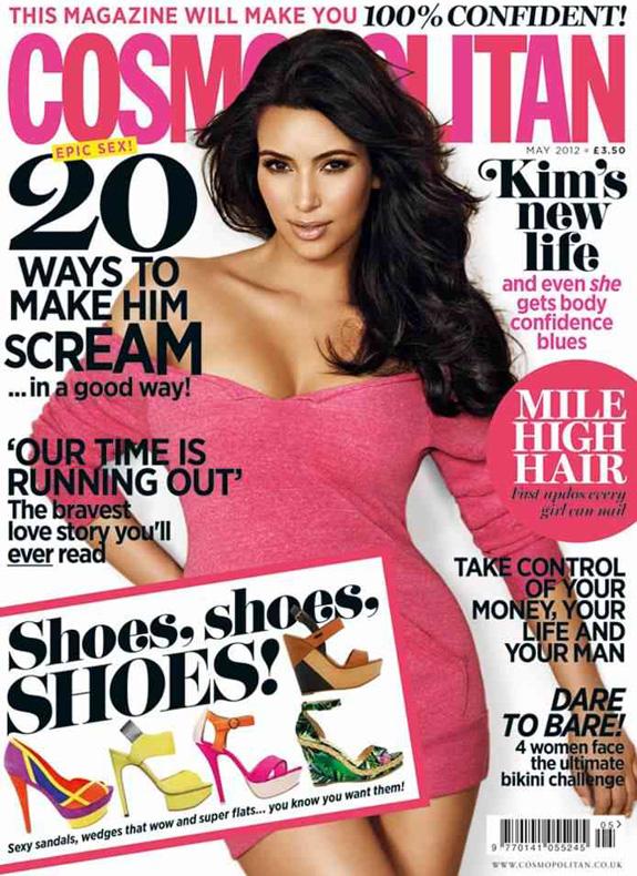 Kim Kardashian - Cosmopolitan UK May 2012