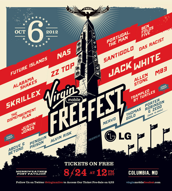 Virgin Mobile's 2012 FreeFest