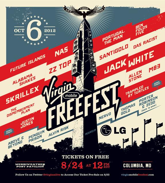 Virgin Mobile's 2012 FreeFest