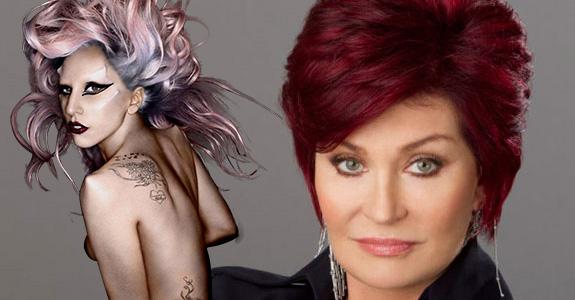 Sharon Osbourne vs. Lady Gaga