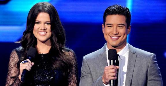 Khloé Kardashian and Mario Lopez