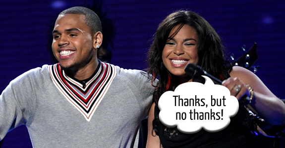 Chris Brown and Jordin Sparks