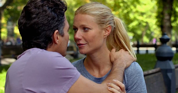 Gwyneth Paltrow and Mark Ruffalo