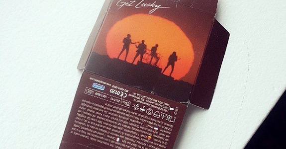 """Daft Punk """"Get Lucky"""" Condoms"""