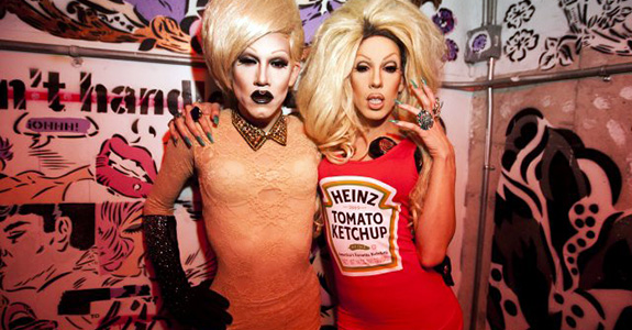 Sharon Needles and Alaska