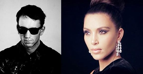 Tyler Shields and Kim Kardashian