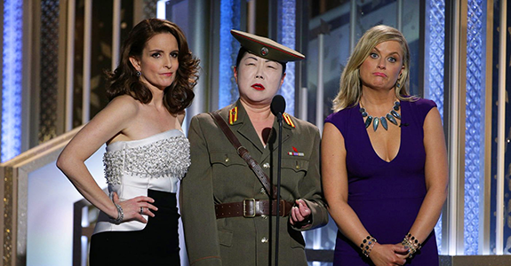 Tina Fey, Margaret Cho and Amy Poehler