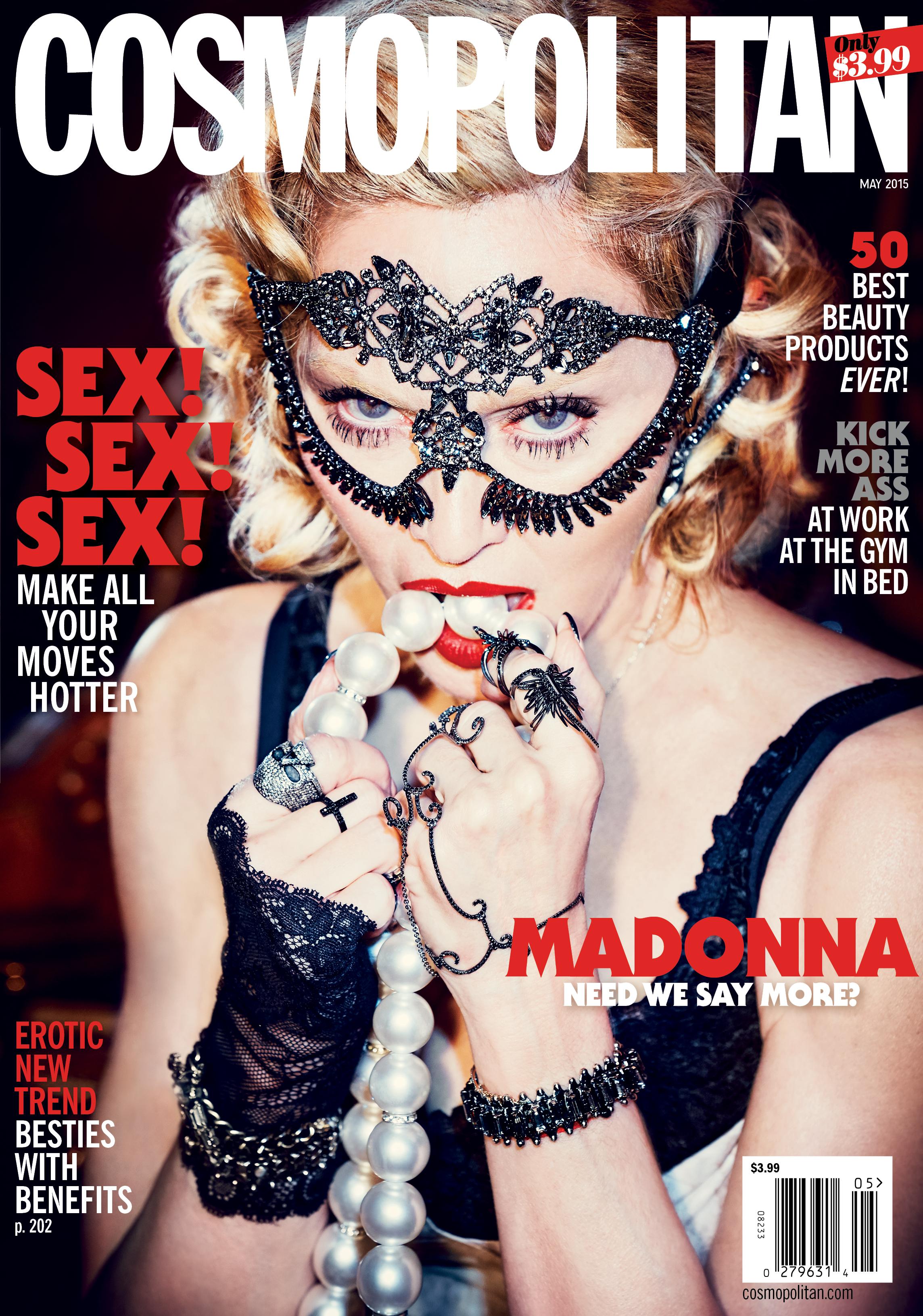 Madonna | Cosmopolitan May 2015