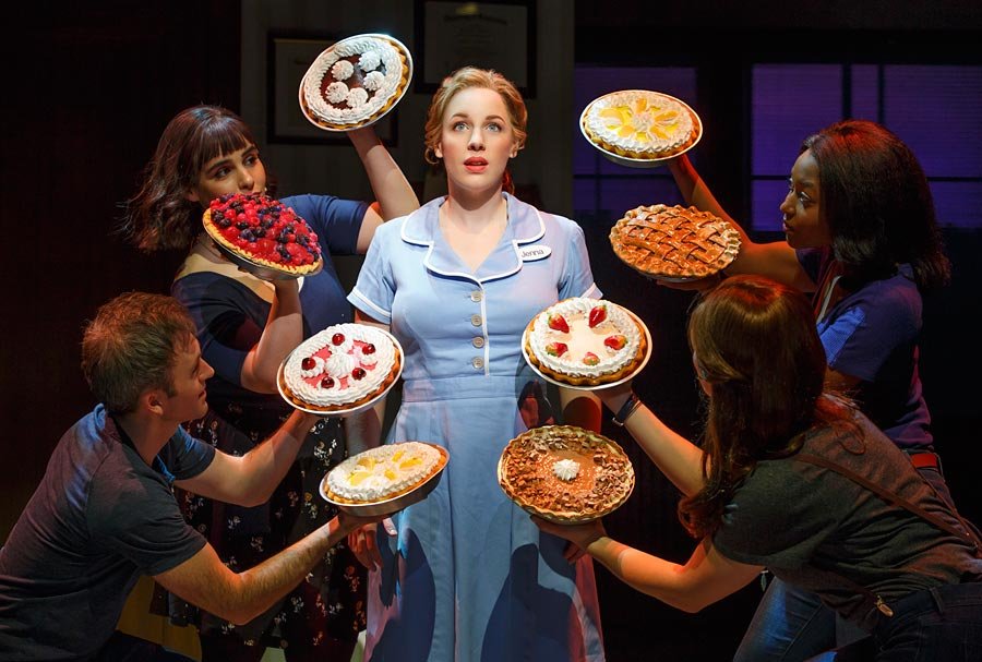 "SLICING UP ""WAITRESS"": AN EXCLUSIVE INTERVIEW W/ STARS JESSIE MUELLER, CHRISTOPHER FITZGERALD & JENNA USHKOWITZ"