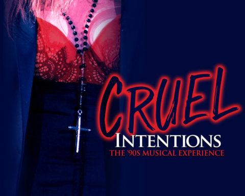 Resultado de imagen de cruel intentions logo off broadway