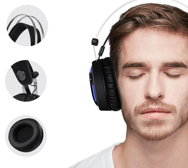 Wired Gaming Headphones for PC