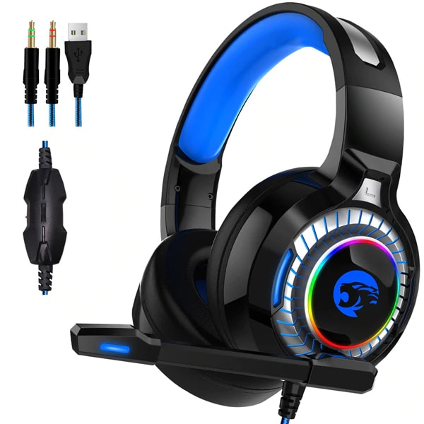 Gaming Headphones with Active Noise Cancellation