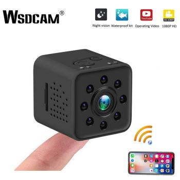 Wsdcam FULL HD 1080P Mini Camera WIFI Camera SQ13 SQ23 SQ11 SQ12 Night Vision Waterproof Shell CMOS Sensor Recorder Camcorder