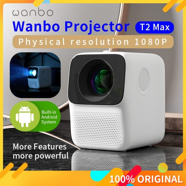 LCD Projector LED Support 1080P Vertical keystone Correction Portable Mini Home Theater Projector