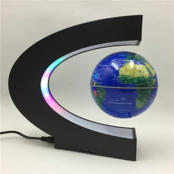 2021 Floating Magnetic Levitation Globe Light World Map Ball Lamp Lighting Office Home Decoration Terrestrial Globe novelty lamp