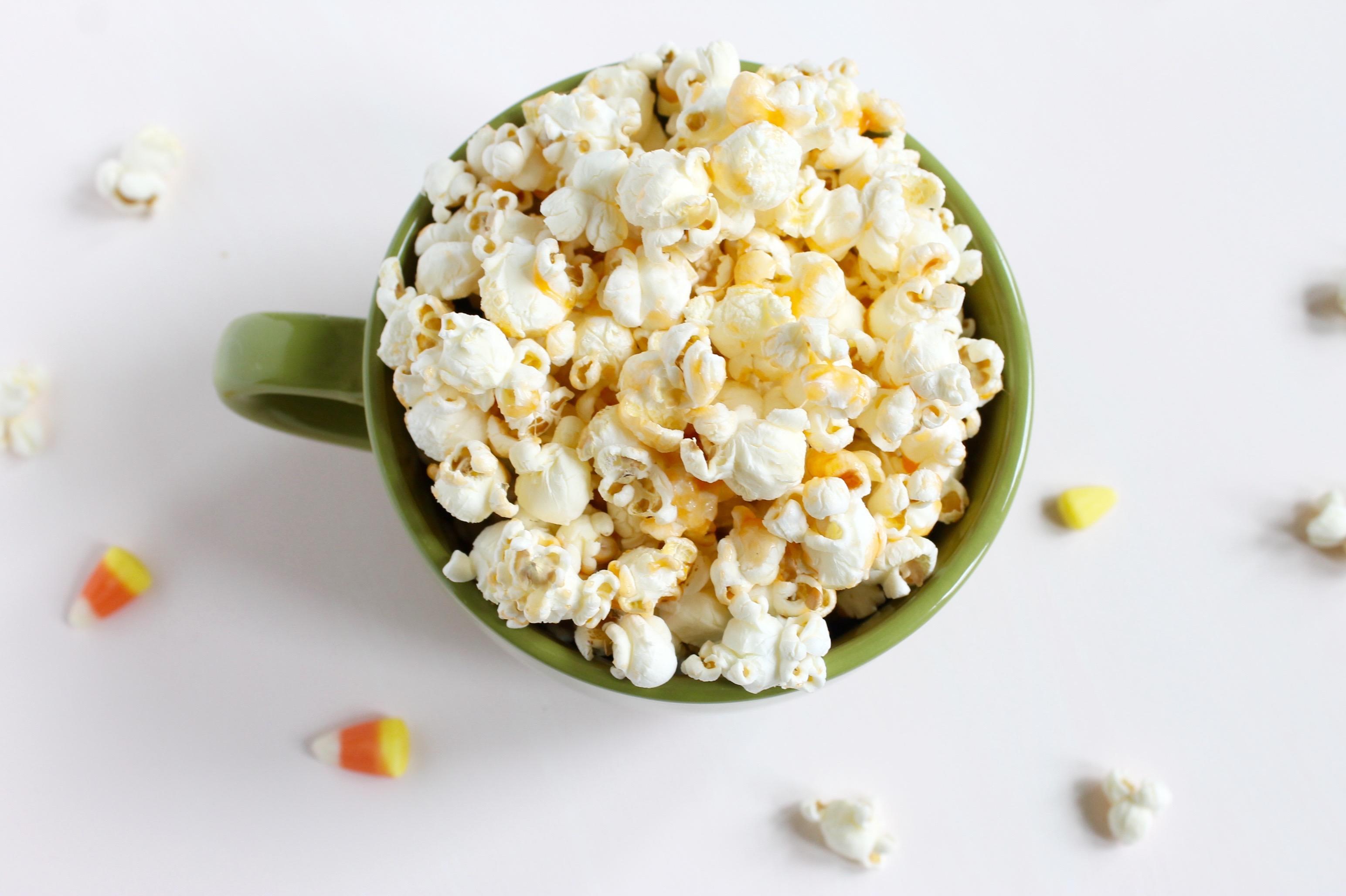 Candy Corn Popcorn Popcorn Chocolate Happy Halloween