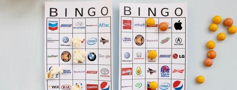 Super Bowl Bingo Boards | Popcorn & Chocolate