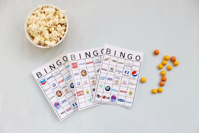 Super Bowl Bingo Boards | Popcorn & Chocolate