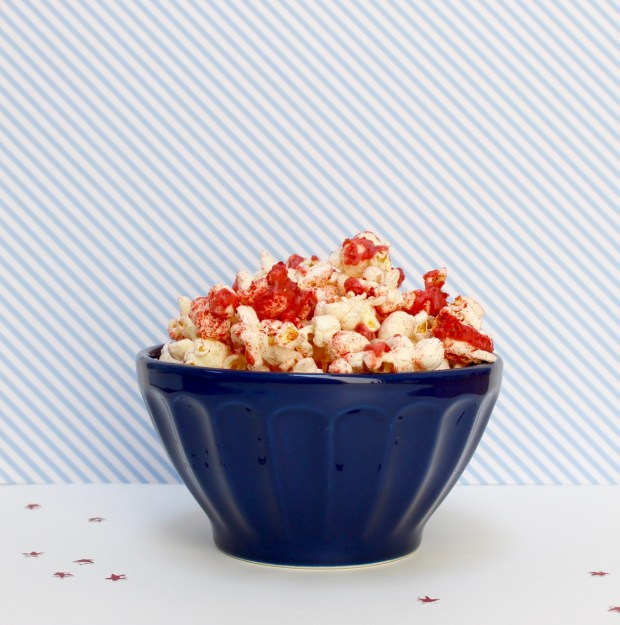 Fourth of July Popcorn | Popcorn & Chocolate