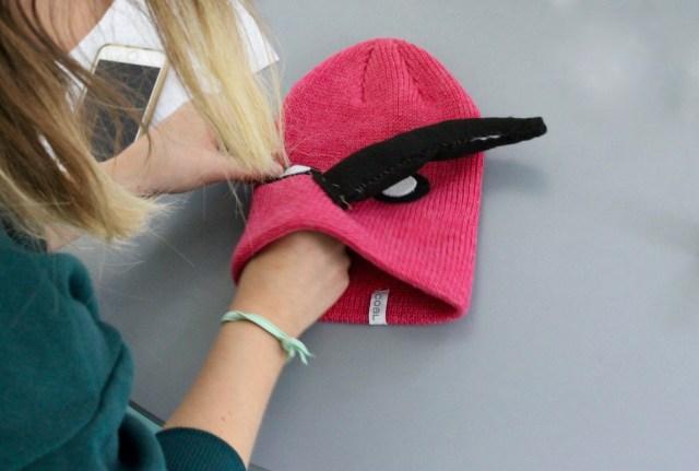 Sewing DIY bird hat | Popcorn & Chocolate