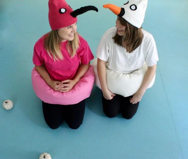 Bird pool float costumes | Popcorn & Chocolate