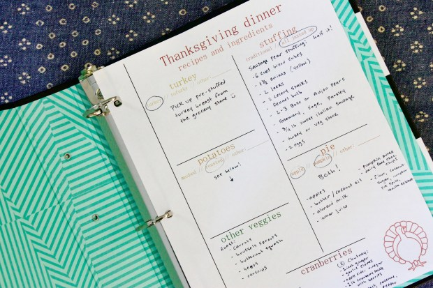 thanksgiving grocery list | Popcorn & Chocolate