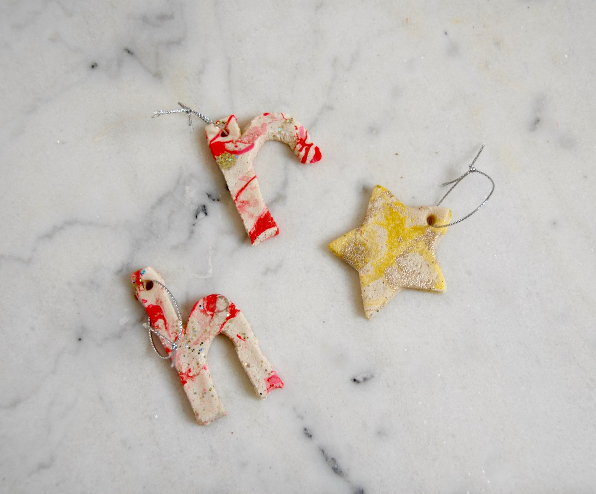 Letter ornaments | Popcorn and Chocolate