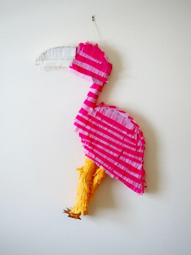 DIY Flamingo Piñata | Popcorn and Chocolate