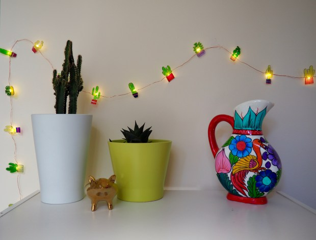 DIY Shrinky Dinks Cactus Lights | Popcorn and Chocolate