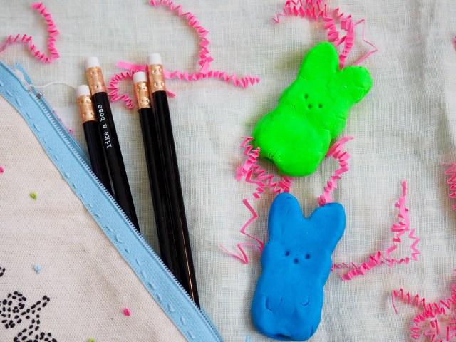 DIY Bunny Erasers | Popcorn and Chocolate